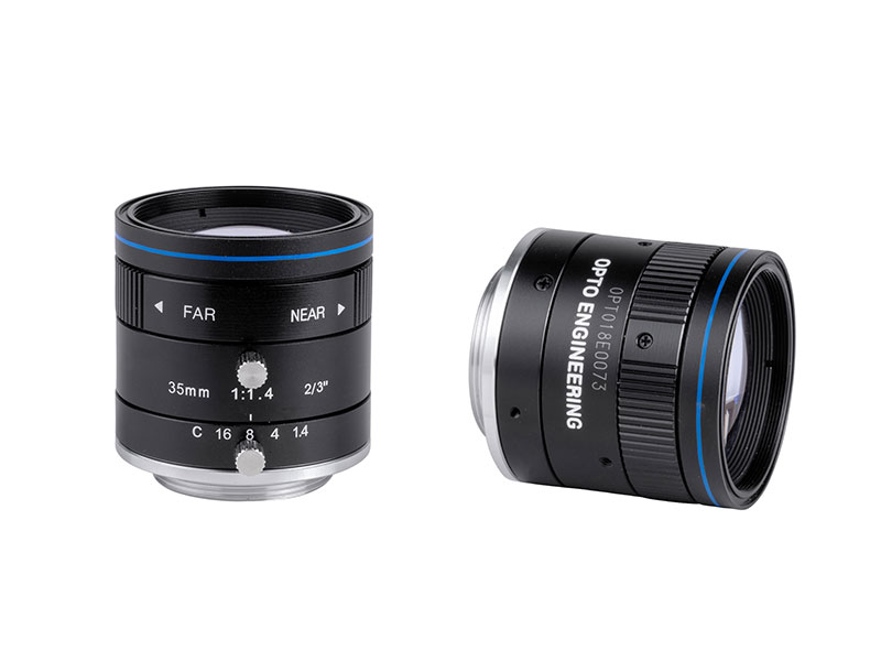 Fixed focal 2 Megapixel lens, focal length 35 mm, f# 1.4 - C, C-mount
