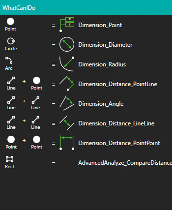 Simple features creation tool