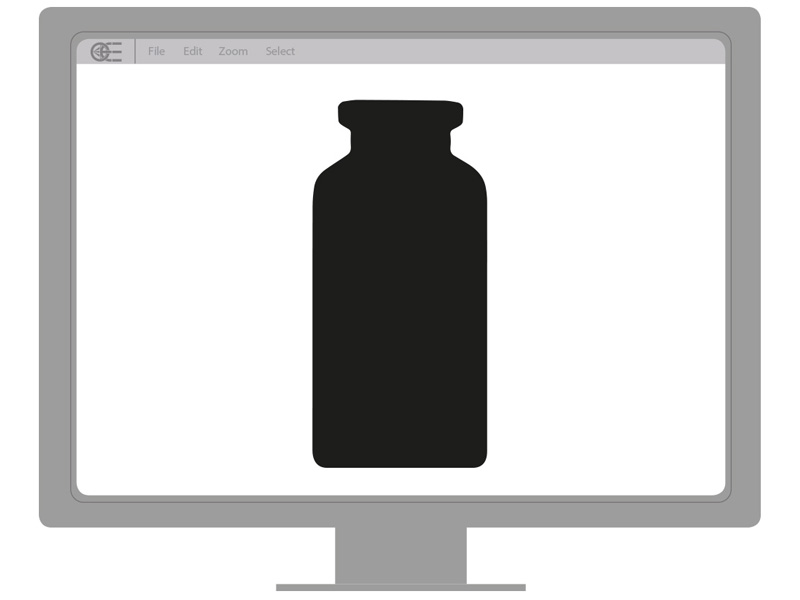 Bottle dimensional check oe imaging solution