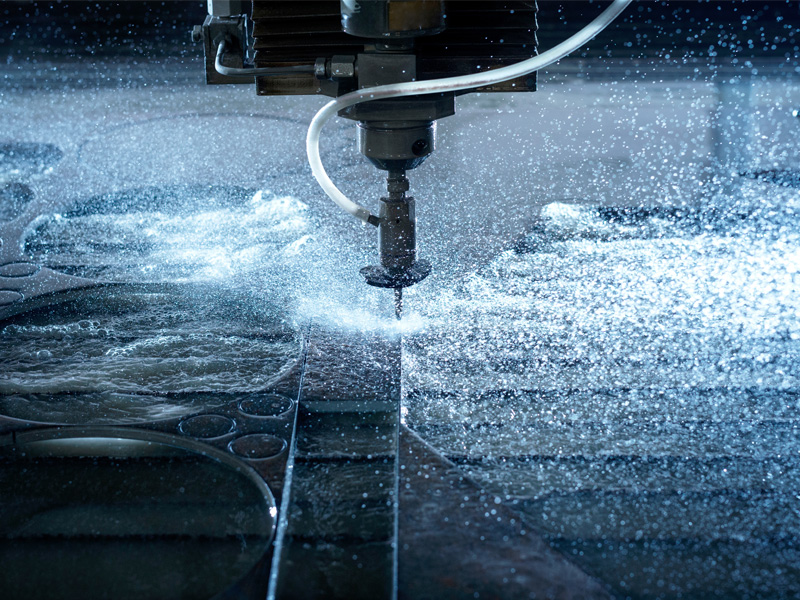 Precise measurement of water-cut objects