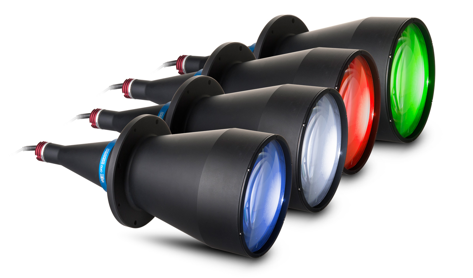 Available colors of LTCLHP illuminators