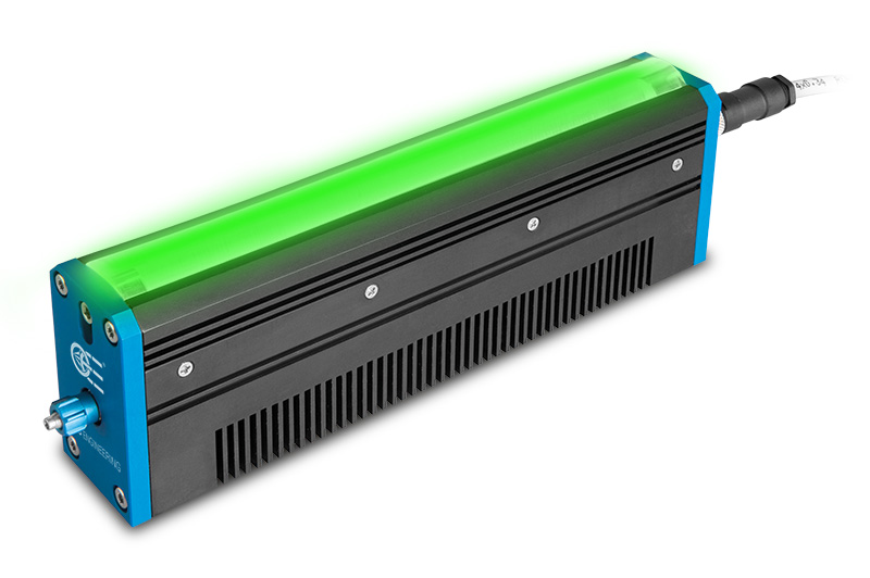 LED line light 150 mm, green