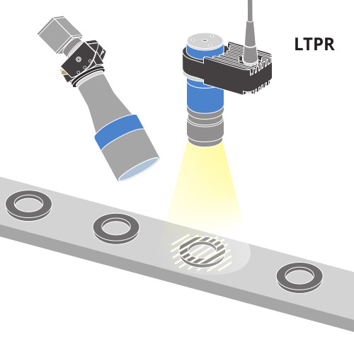 Planarity control of black products(LTRUP strobe projector suggested)