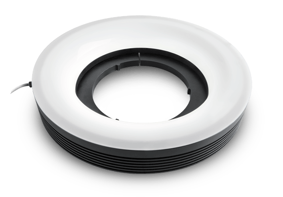 LED ring illuminators - oblique type
