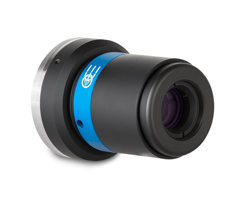 Macro lens for 4k linescan cameras, magnification 0.25x, F-mount