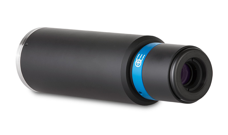 Macro lens for 4k linescan cameras, magnification 2.00x, F-mount