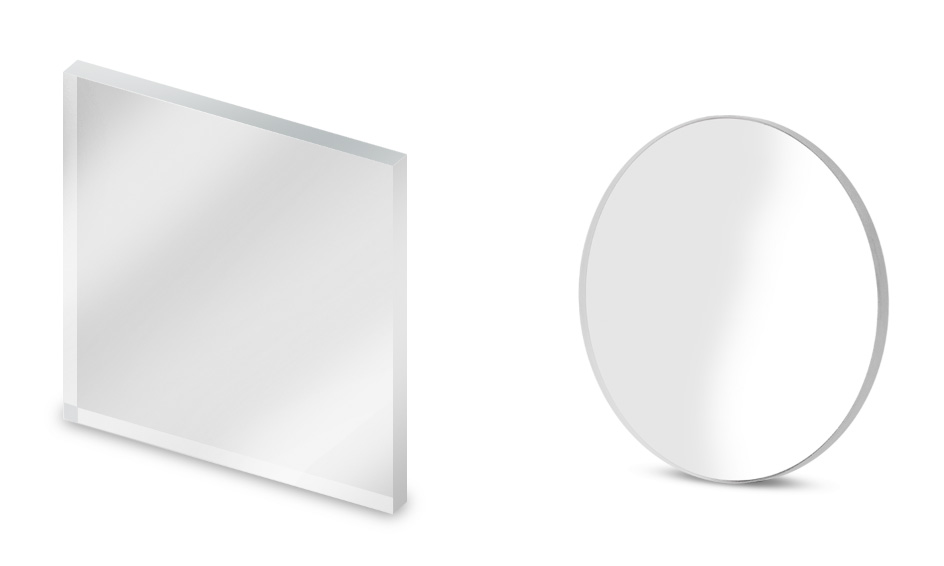 Customized size of protective windows and mirrors