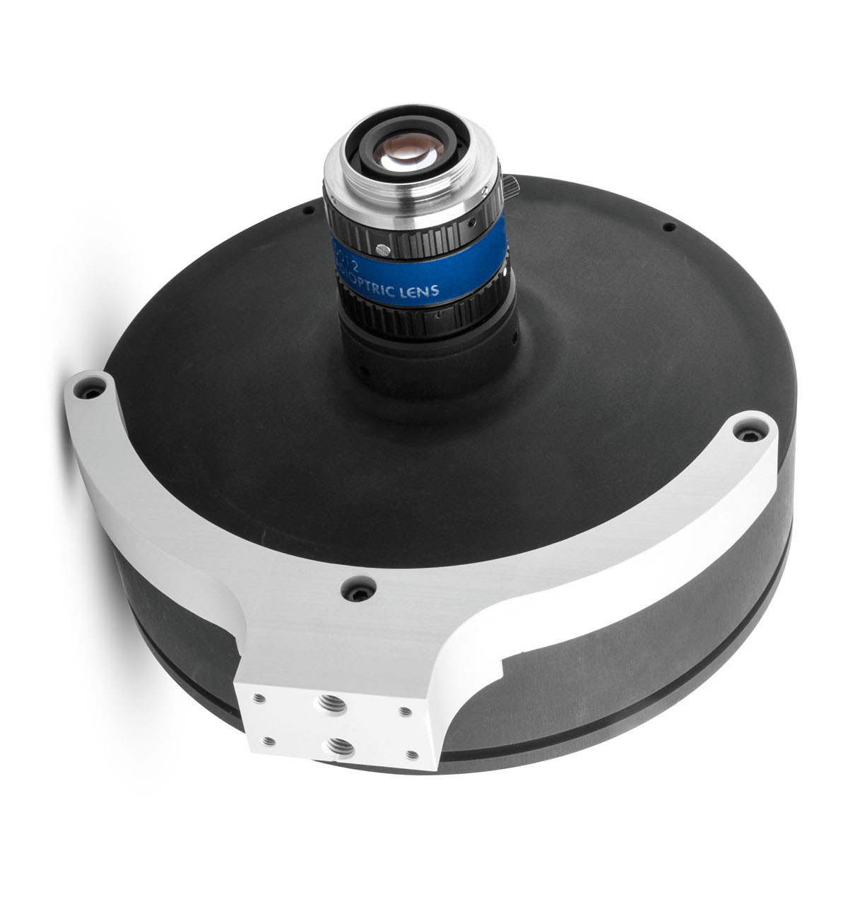 <p>PCCD optics are complemented by a full set of accessories, including <strong>CMHOPCCD:</strong> dedicated clamping mechanics designed   to securely hold catadioptric lenses. </p>