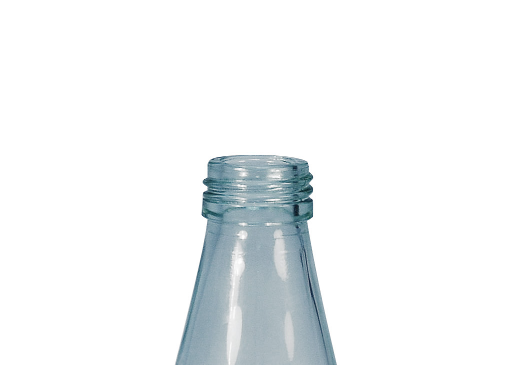 Glass bottle sample