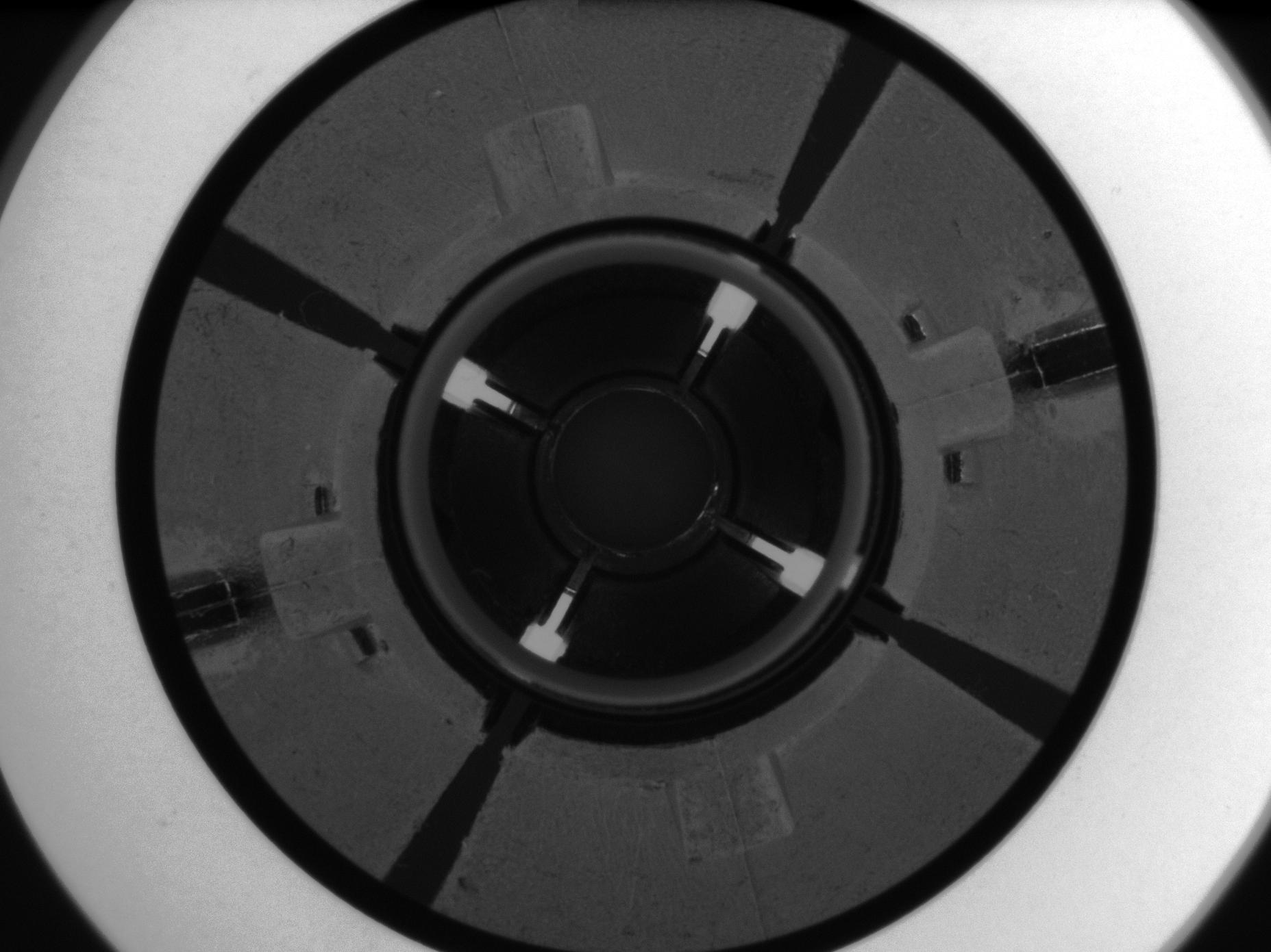 Mechanical component  imaged by PCCD