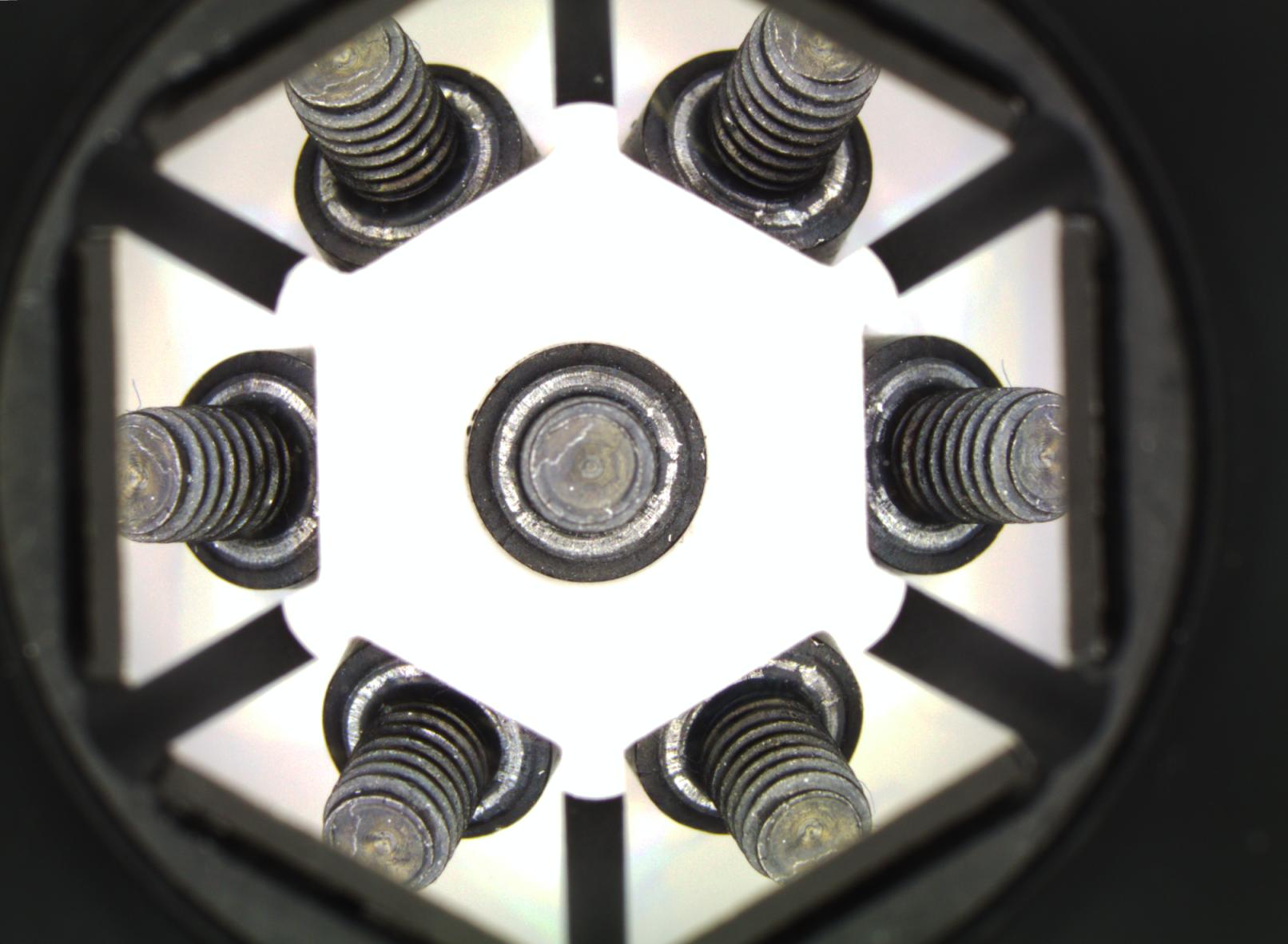 Screw inspected using PCMP Micro Polyview