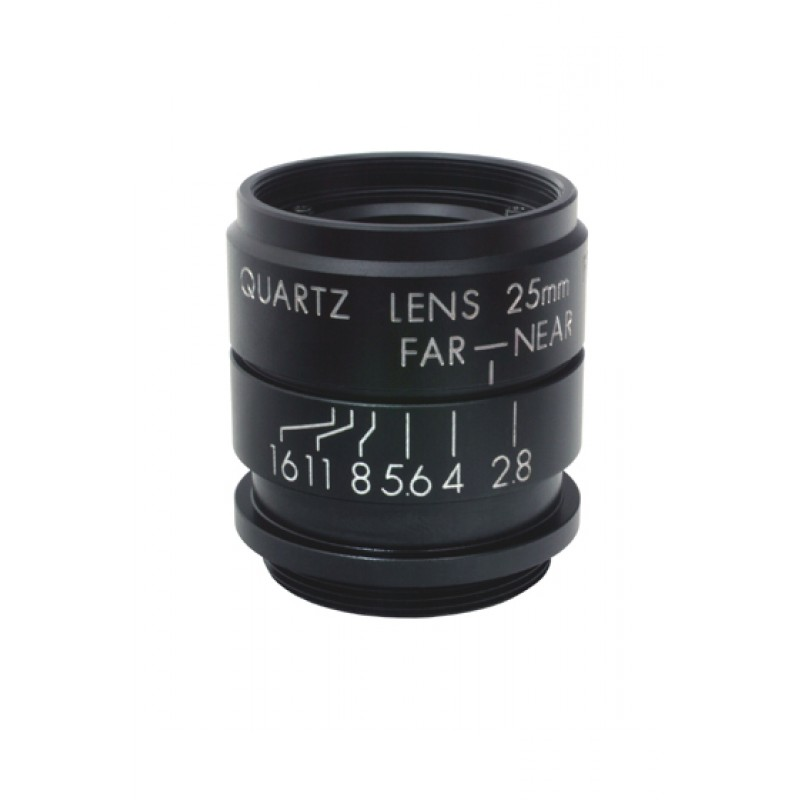 "UV C-mount lenses for up to 1"" detectors"
