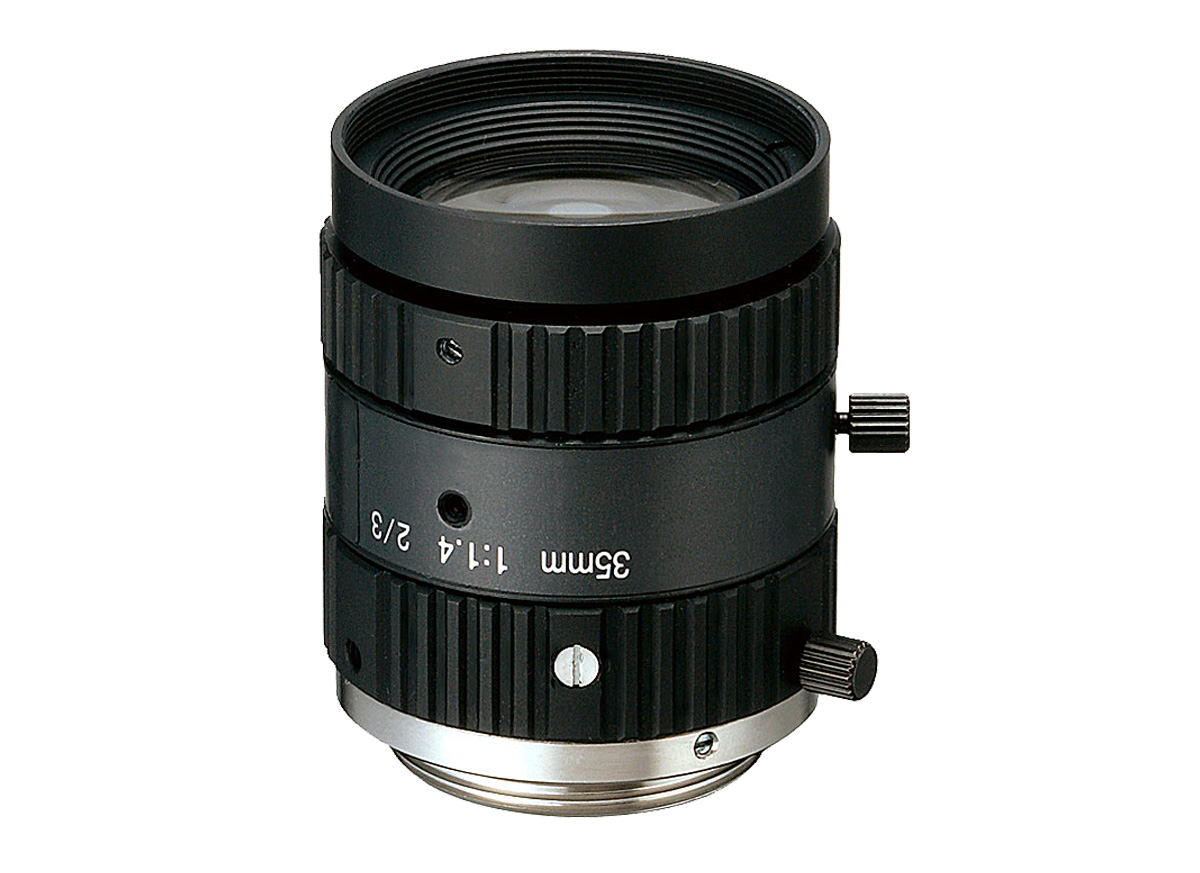 2 Megapixel fixed focal length lenses for sensors up to 2/3""