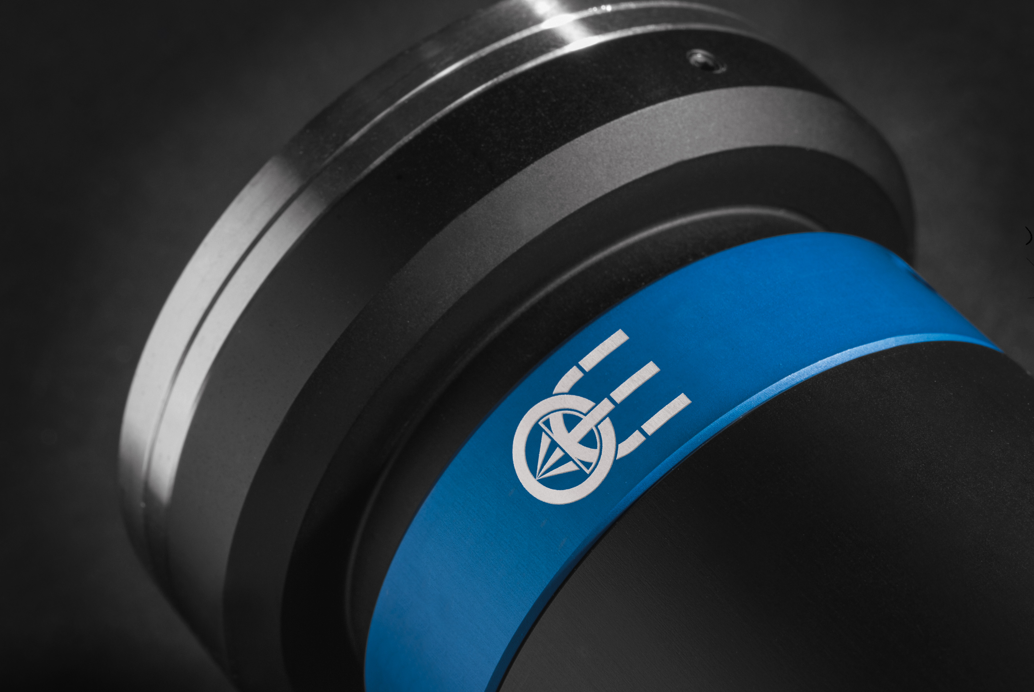 Close up photo of a TC4K telecentric lens