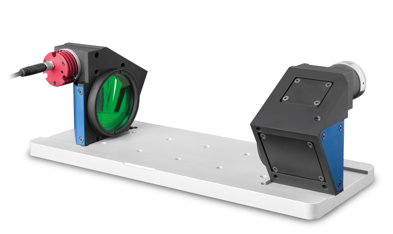 Ultra compact TCCORE optical benches for precision measurements