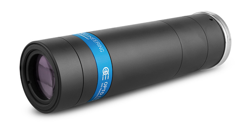 TCLWD150-Long working distance telecentric lens for 2/3″ detectors, WD 132.3 mm, magnification 1.50x, C-mount