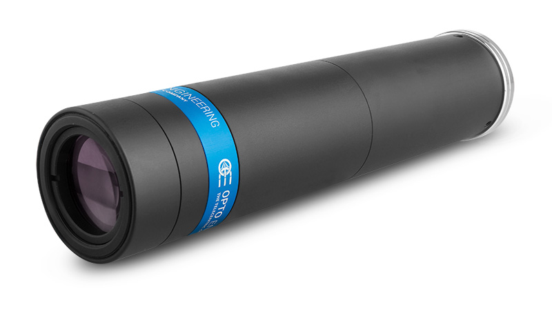 TCLWD350-Long working distance telecentric lens for 2/3″ detectors, WD 132.3 mm, magnification 3.50x, C-mount