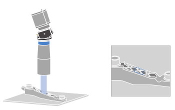 TCSM imaging and measuring sloped objects.