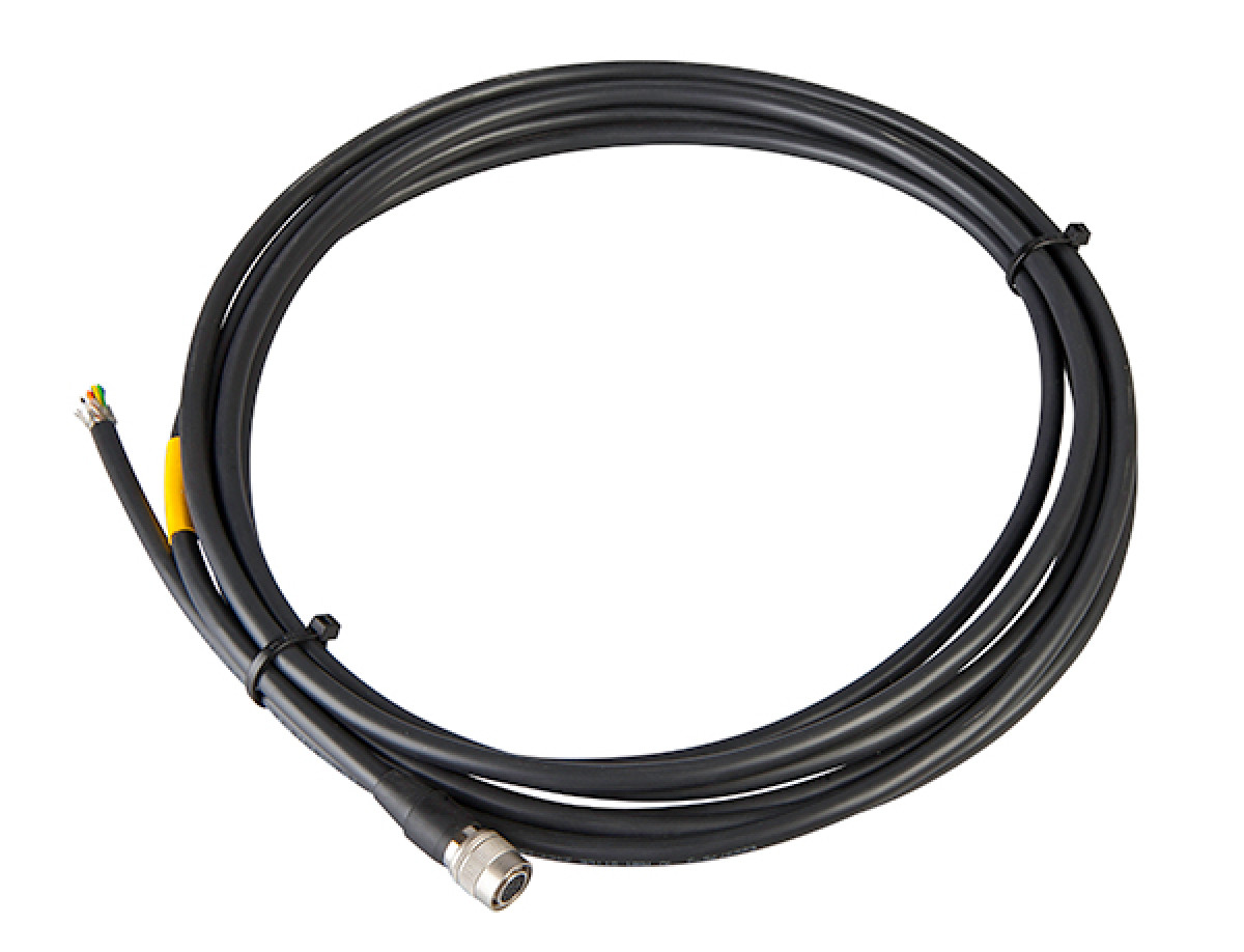 I/O cable, side 1 HIROSE 12 pin, side 2 cable end, 3 m