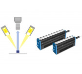 Continuous LED line lights