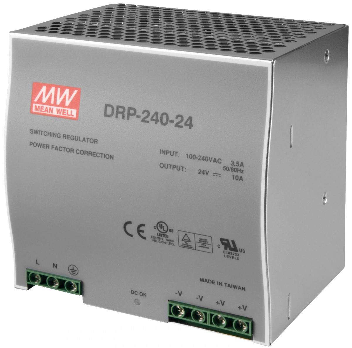 48VDC DIN rail power supply